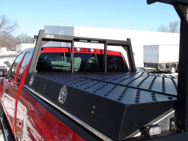 The Highway Products Pickup Packs have a smooth, tapered design so it flows smoothly into your truck bed.